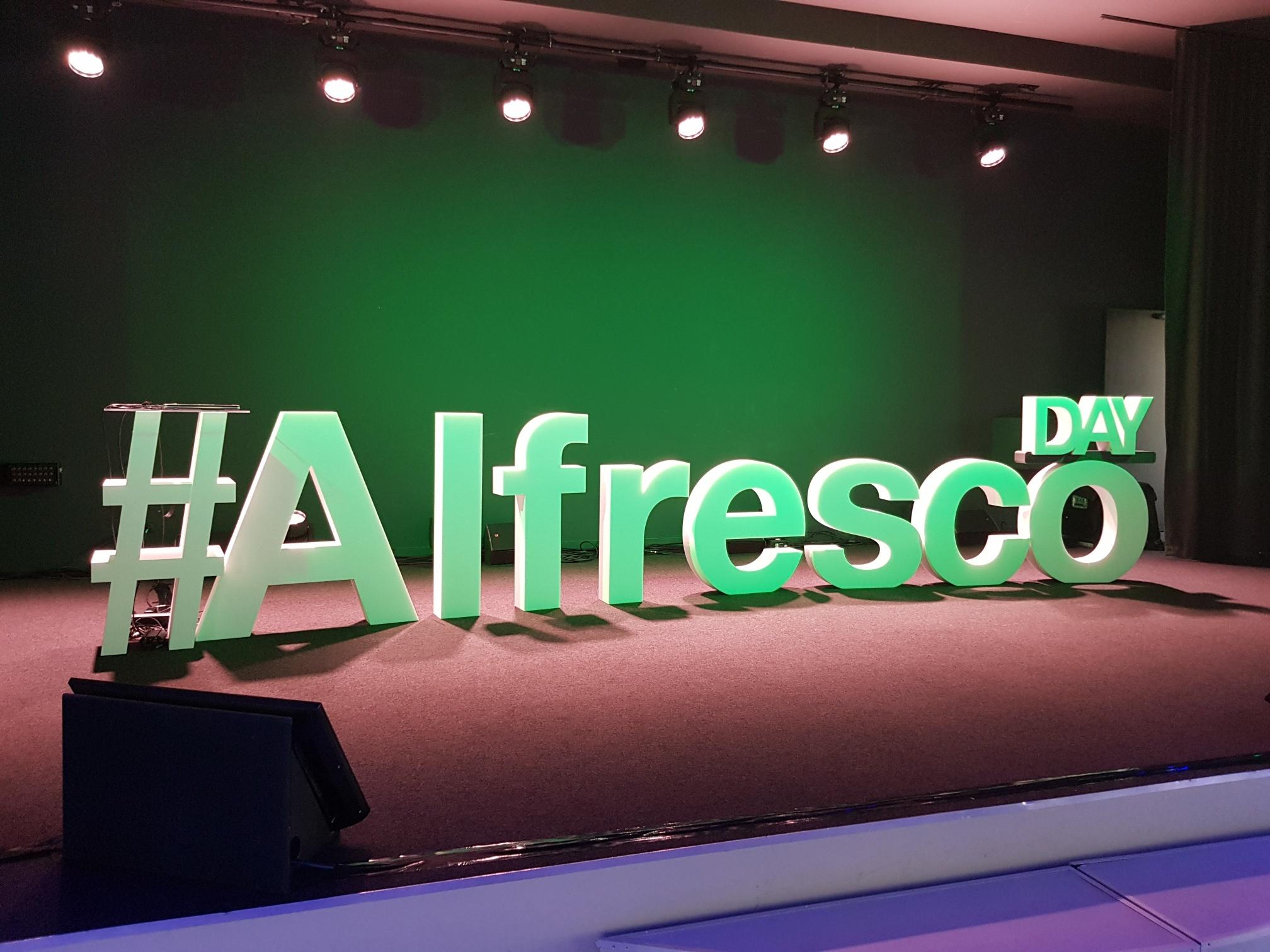 Alfresco Paris Day 2018
